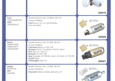 4F-BOMBAS DE COMBUSTIBLES ELECTRICAS 4F-1